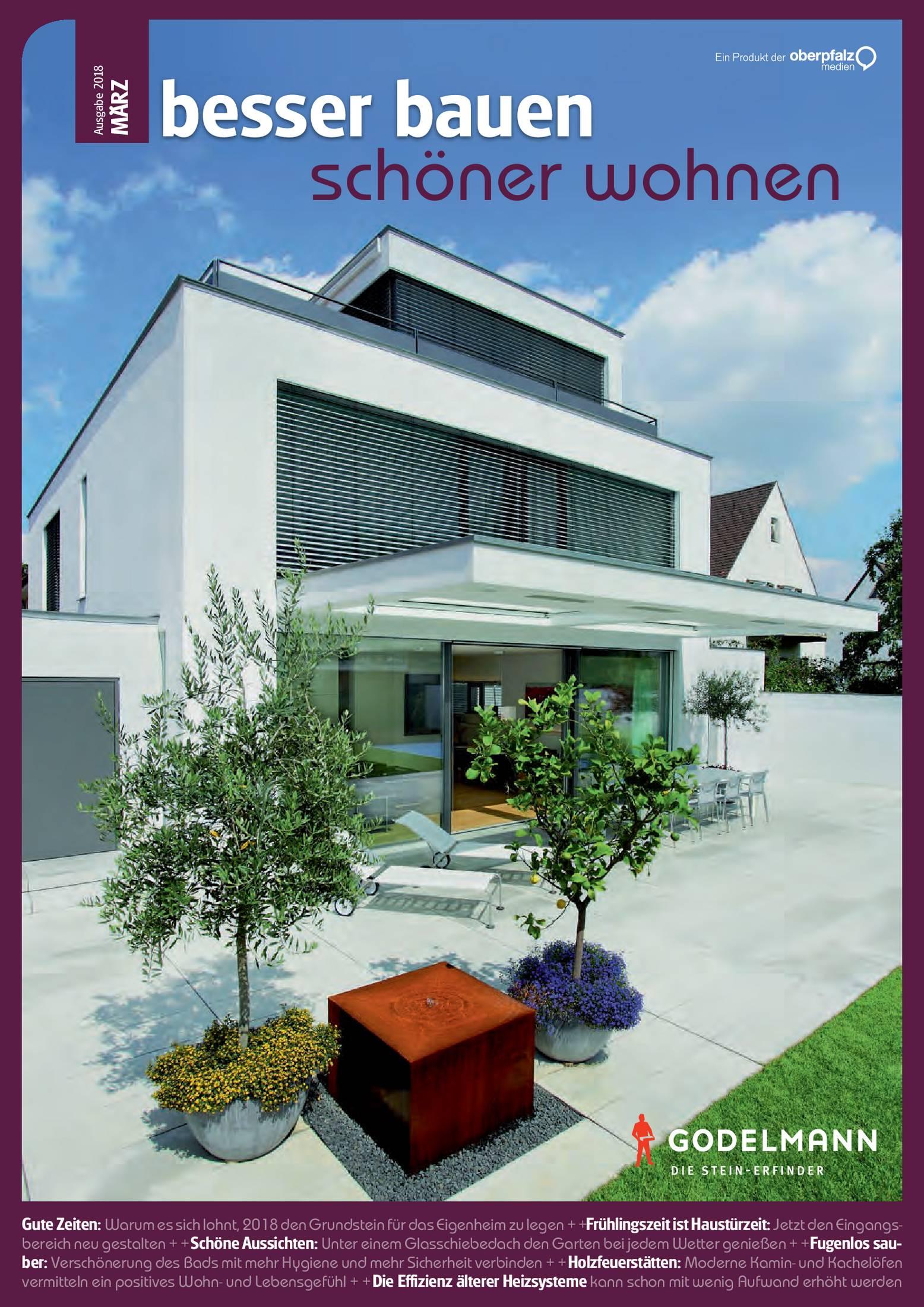 Besser Bauen Schöner Wohnen Frühjahr 2018 Onetz