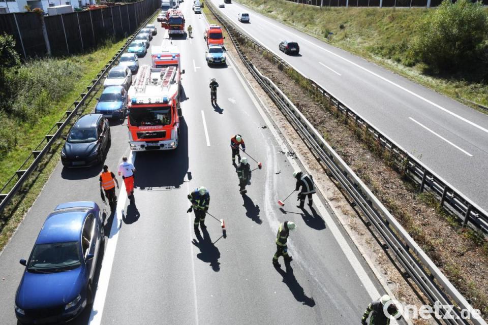 Unfall A93 Weiden