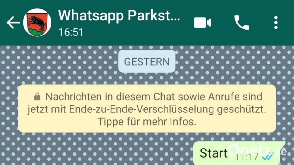 Parkstein informiert per Whatsapp – aber wie lange? - Onetz.de