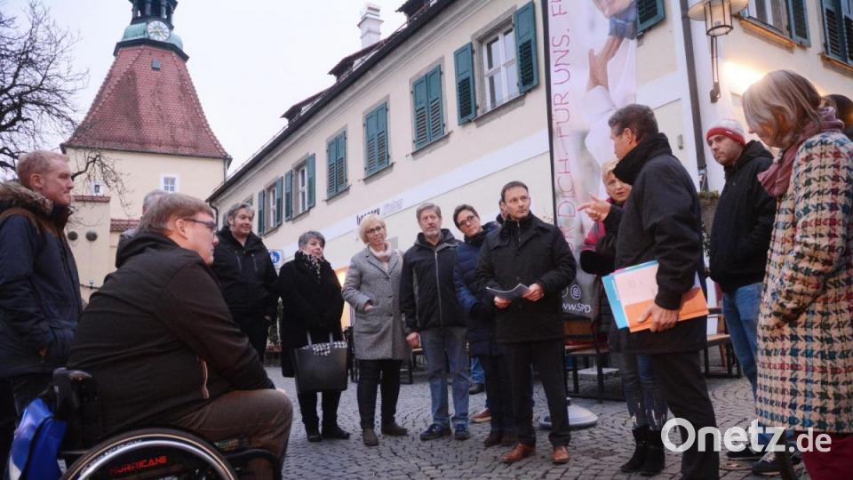 Wie barrierefrei ist die Altstadt in Weiden? - Onetz.de
