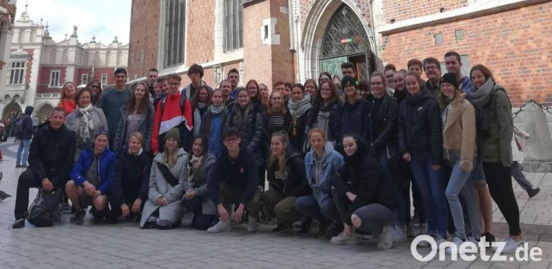 Fachoberschüler Besuchen Auschwitz Birkenau Onetz