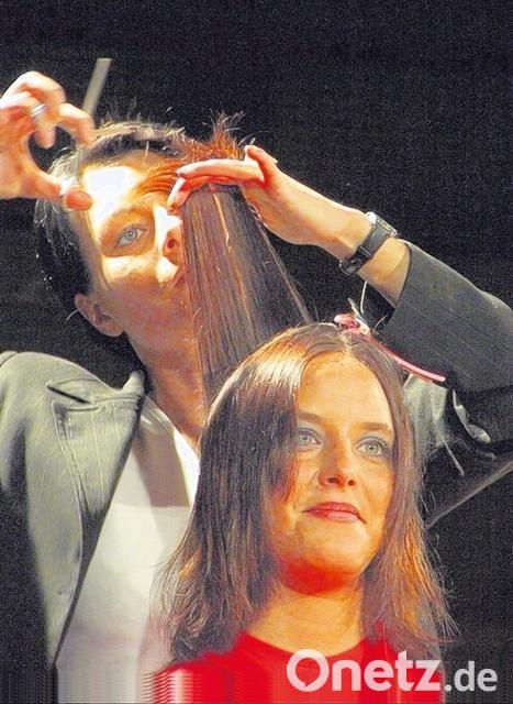 Dauerwelle bei dunnem feinem haar
