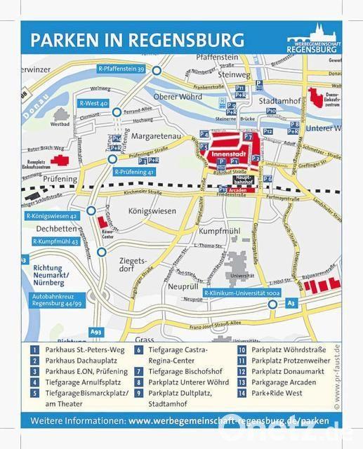 Parken In Regensburg Kostenlos