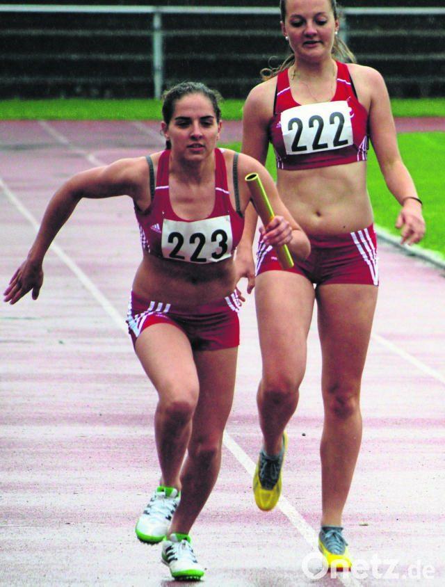 Dreifach-Bronze für Leichtathleten   Onetz