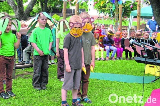 Kinder Machen Garten Zum Dschungel Onetz