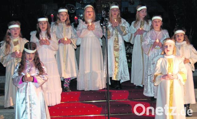 Kinder verkünden Weihnachtsbotschaft | Onetz