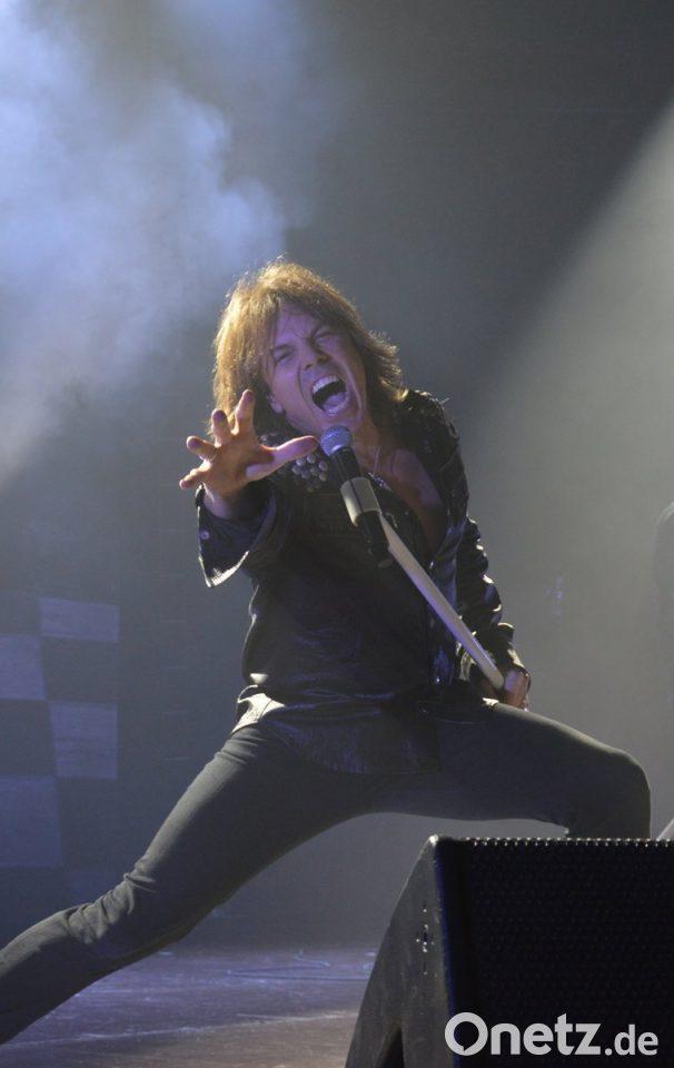 Europe Sänger Joey Tempest In Regensburg Onetz