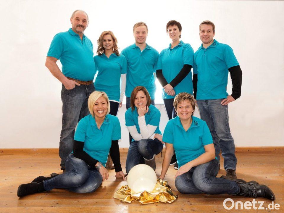 Lesbische Familie dreifach