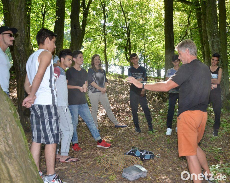 Kletterausrüstung Regensburg : Einzelkämpfer lernen teamwork onetz