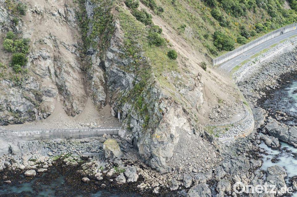 Nach Erdbeben In Neuseeland Kaikoura Wieder Zuganglich Onetz