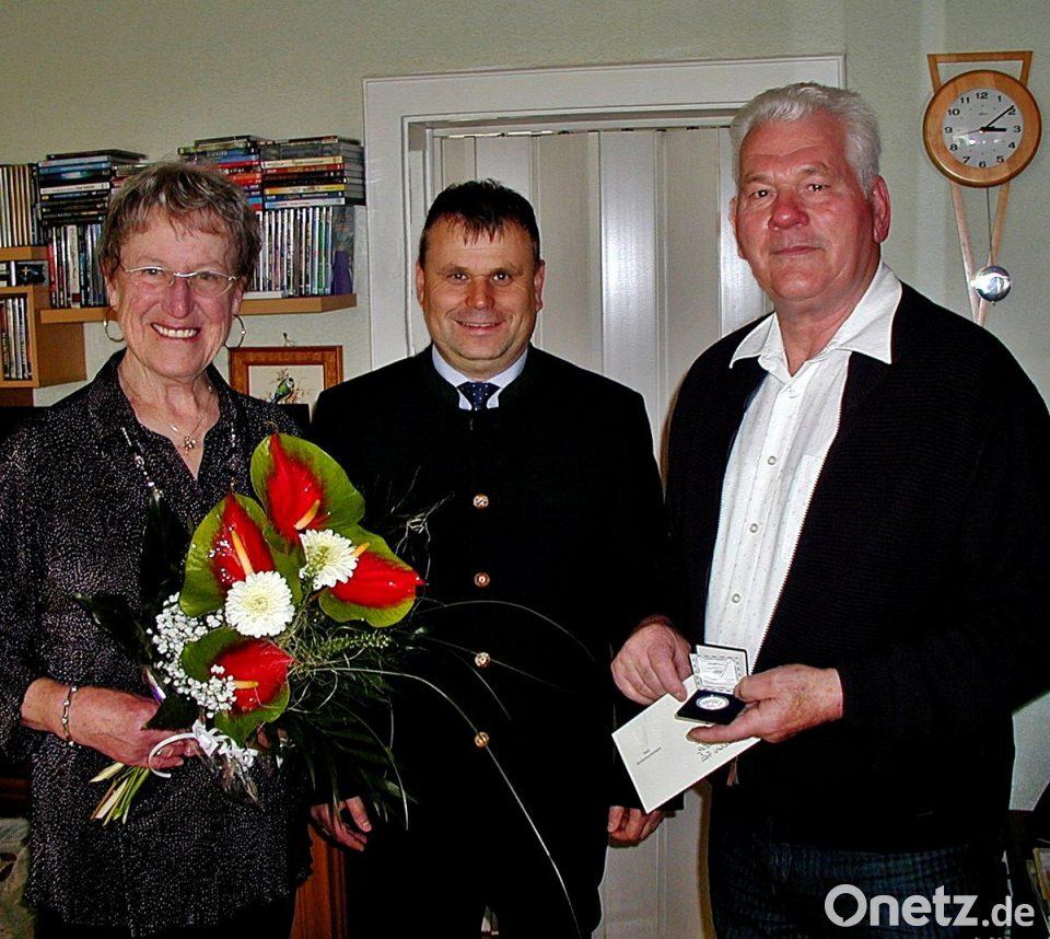 Heidrun Und Manfred Mohr Feiern Goldene Hochzeit Onetz