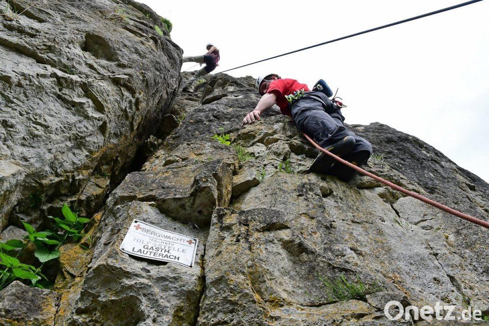Klettersteig Johanngeorgenstadt : Klettersteig ist kein hochseilgarten onetz