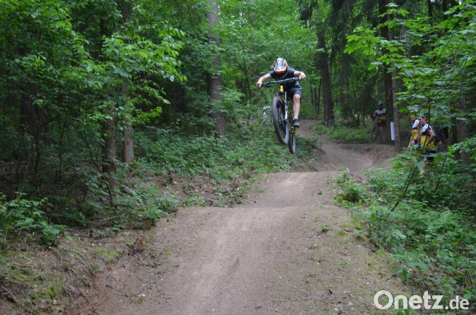 Downhill Von Der Rennerhohe Onetz