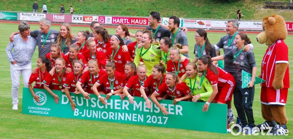 Laura Donhauser Deutsche Meisterin Mit Fc Bayern Onetz