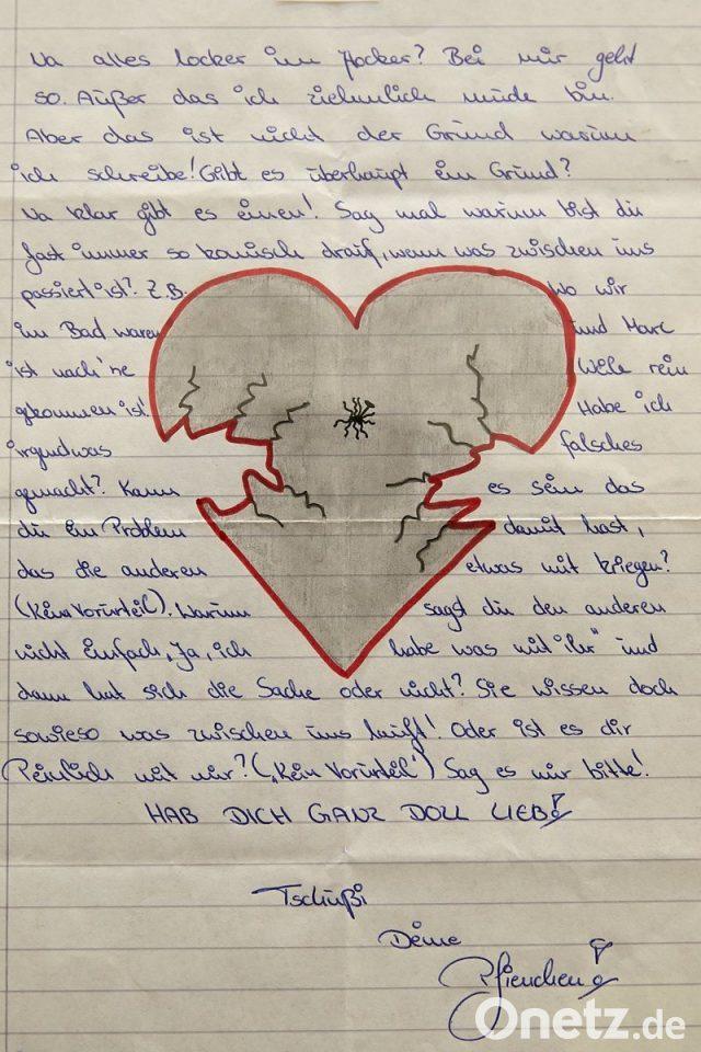 Liebesbrief schatz langer meinen Liebesbriefe schreiben
