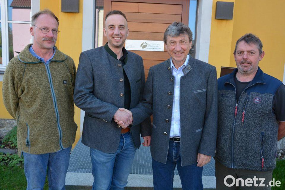 Florian Fischer Neuer Stellvertretender Forstbetriebsleiter Onetz