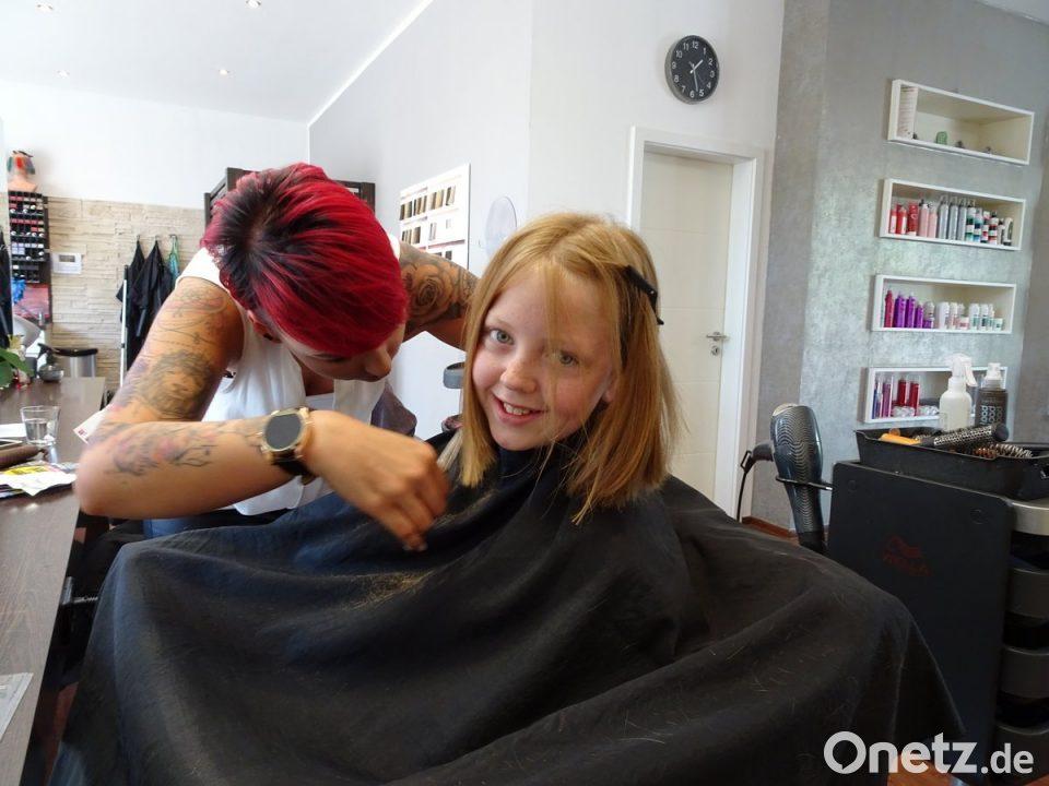 Mit Haaren Glück Verschenken Onetz