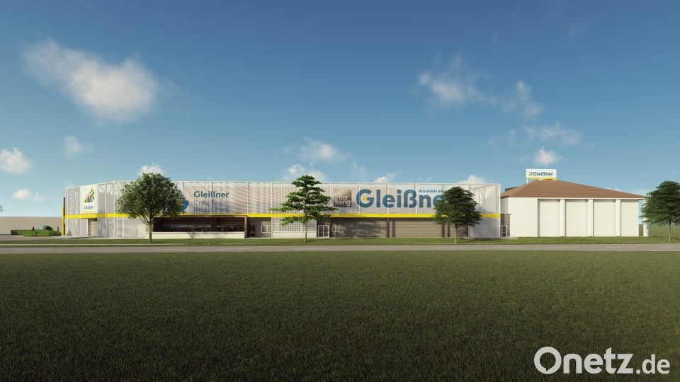 Neue Fassade Für Möbelhaus Onetz