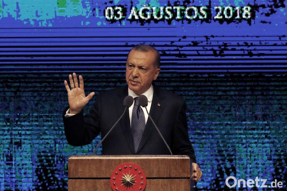 USA verhängen Sanktionen gegen die Türkei