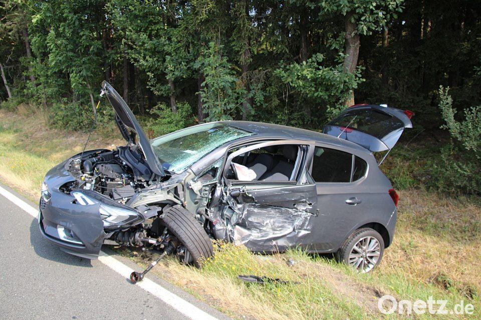 Klettergerüst Unfall : Unfall auf a trabant überschlägt sich onetz