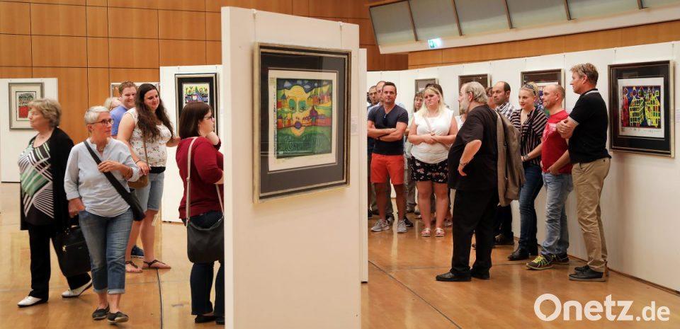 Amberg Hundertwasser Ausstellung