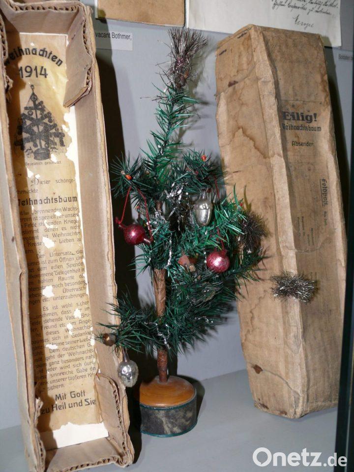 Lisas Erster Weihnachtsbaum.Weihnachtsbaum Per Feldpost Onetz