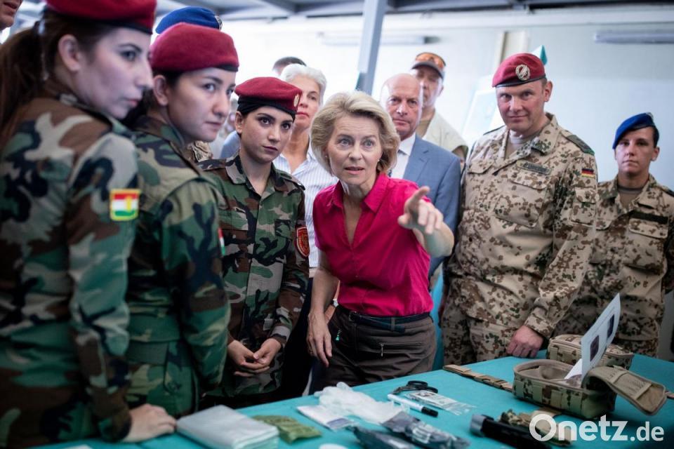 best website 614a2 4eb37 Spannungen am Golf: Bundeswehr setzt Ausbildung im Irak aus ...