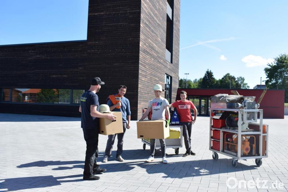 Tirschenreuther Wehr feiert Umzug mit Tag der offenen Tür