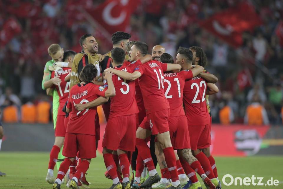 Türkei Schockt Frankreich Belgien Und Italien Souverän Onetz