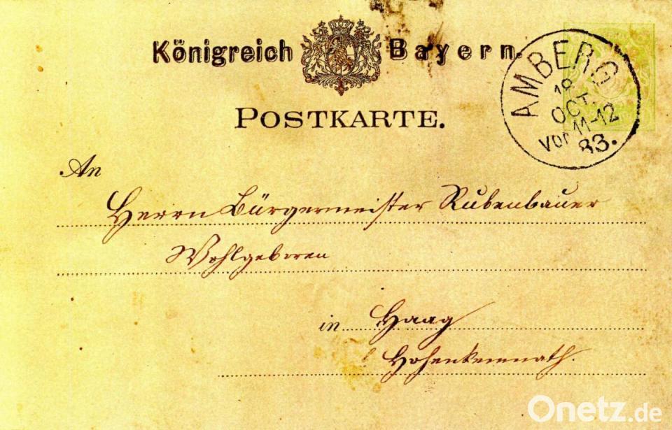 Vor 100 Jahren Bewaffneter Raubüberfall In Haag Onetz