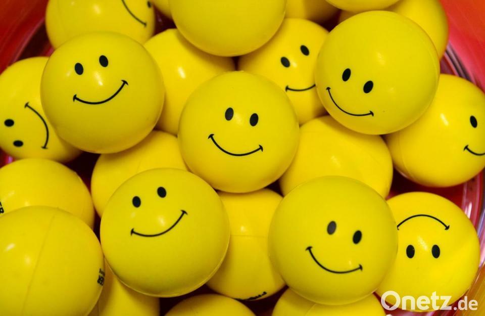 Smiley bitte Smileys Seehäuschen.