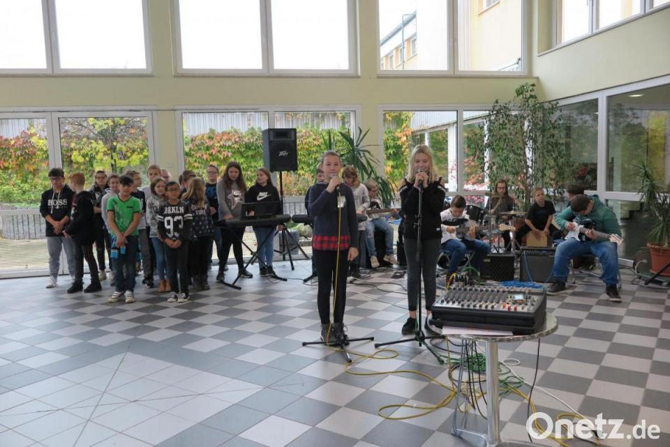 Musik In Den Ohren Der Mittelschüler Onetz