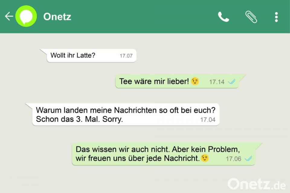 Text whatsapp liebes Fake WhatsApp