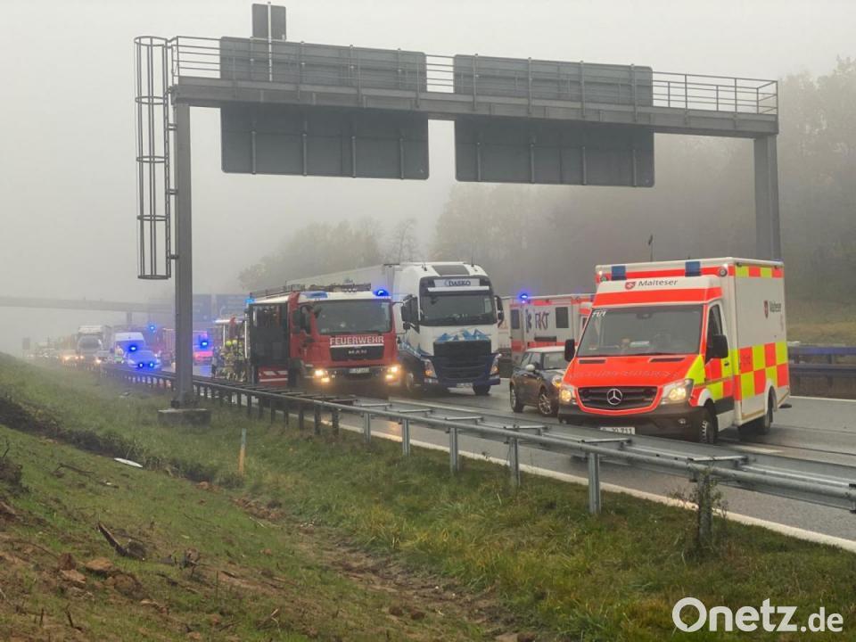 Schwerer Unfall Auf Der A3 In Regensburg Onetz