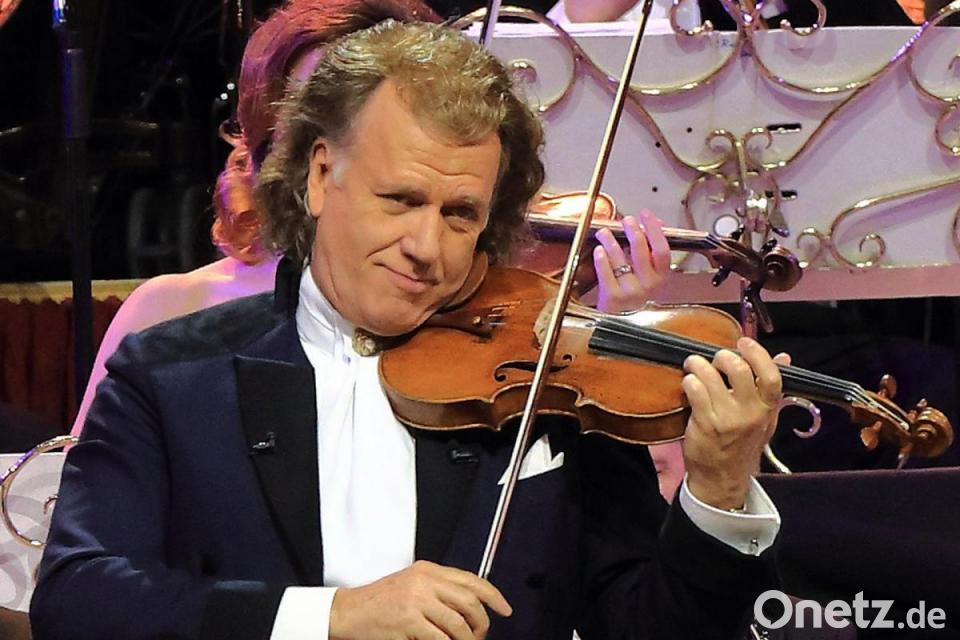 André Rieu kurzfristig erkrankt - Hamburg-Konzert abgesagt