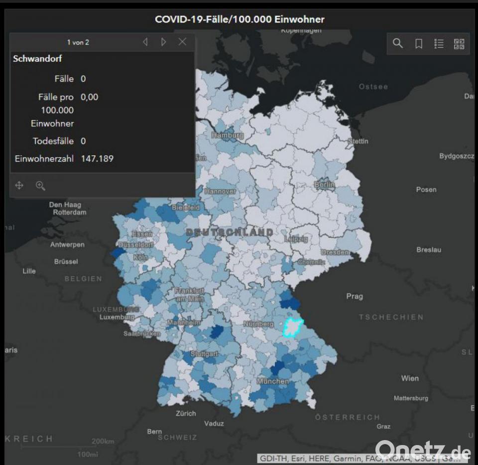Corona Landkreis Schwandorf