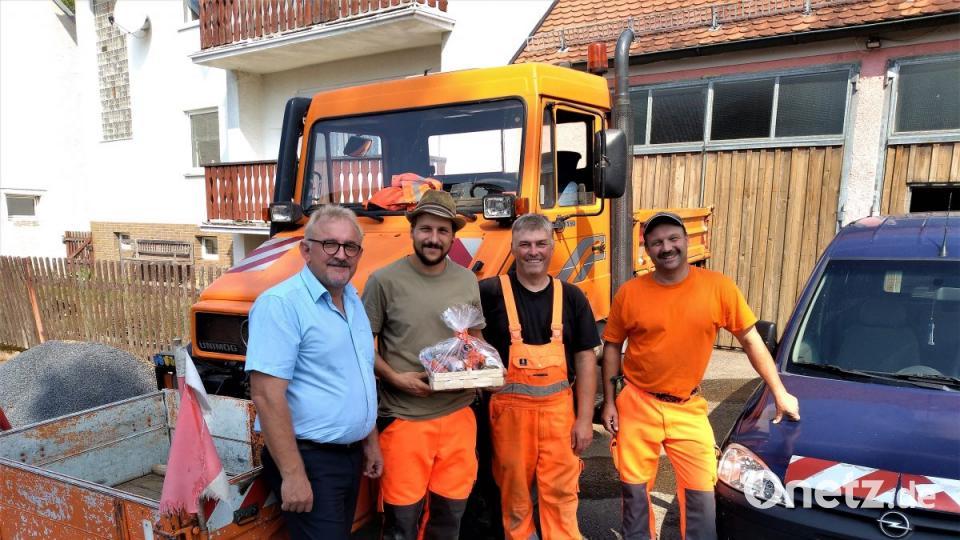 Bauhofteam verjüngt - Onetz