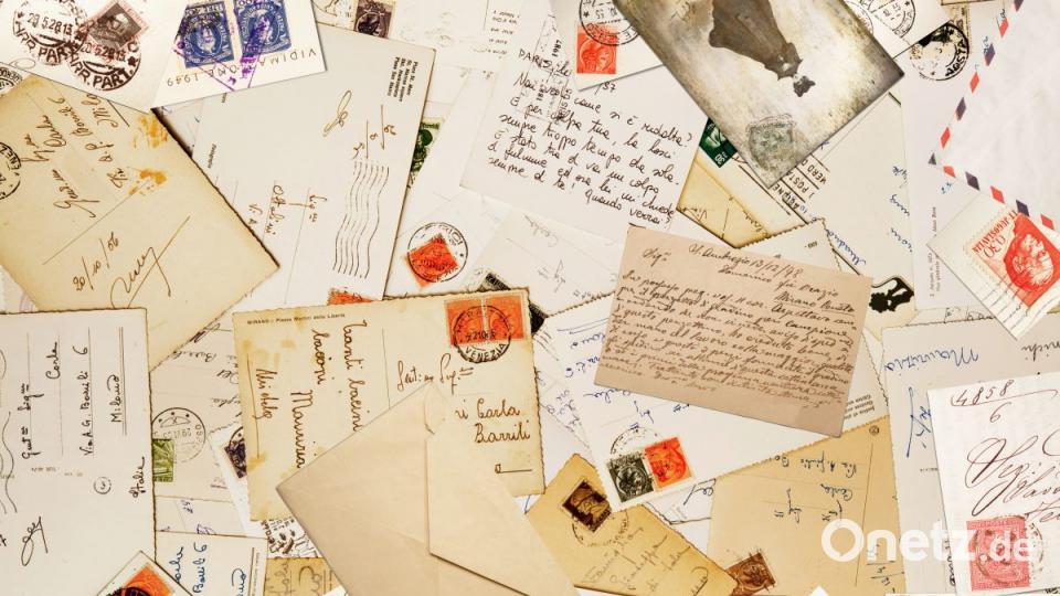 Mal Wieder Einen Brief Schreiben Onetz