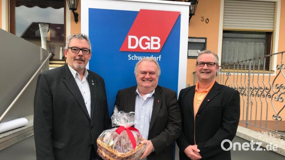 DGB Schwandorf Verabschiedet Helmut Fiedler