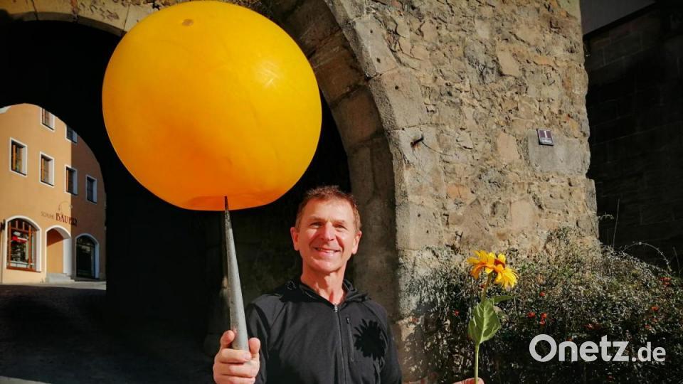 Sepp Fischer treibt Schabernack in Nabburg - Onetz.de