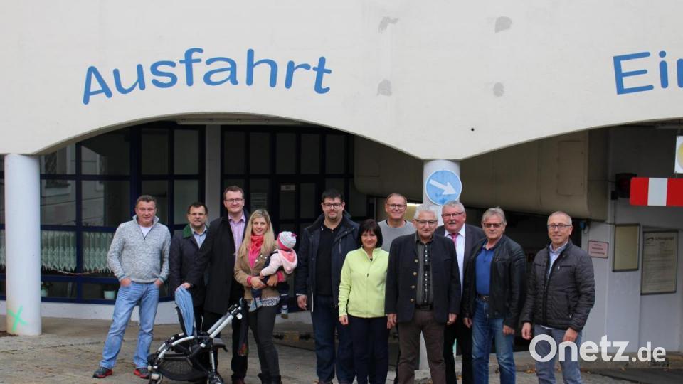 CSU Sulzbach-Rosenberg auf Ortstermin in Tiefgarage - Onetz.de