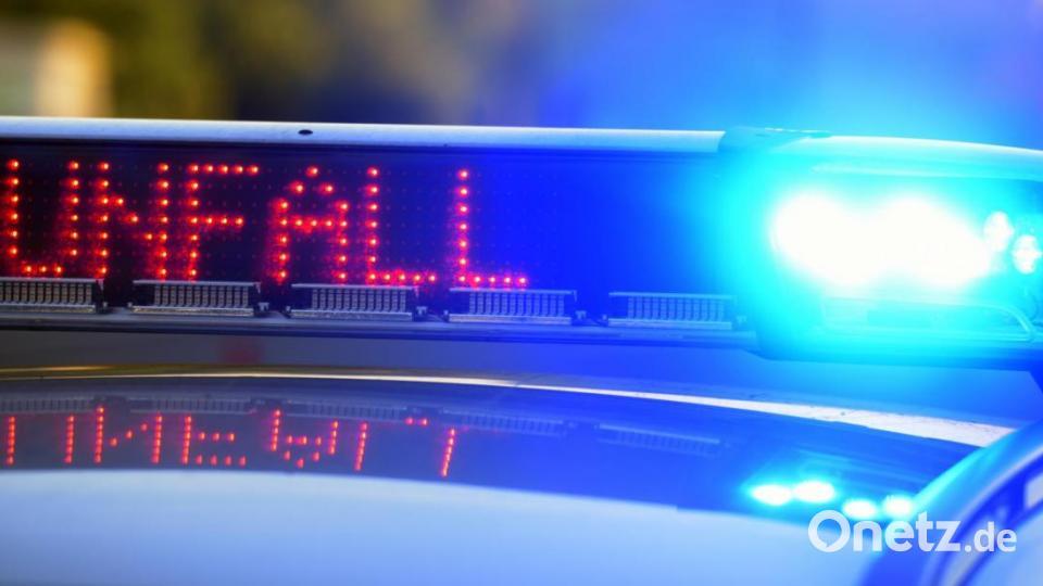 Weiden: Unfall auf B 22 mit zwei Verletzten - Onetz.de