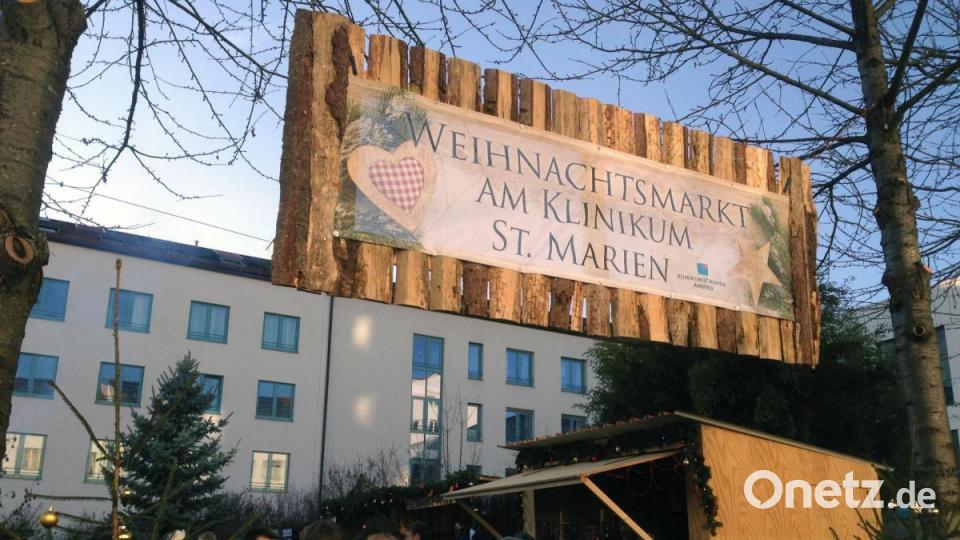 Amberg Weihnachtsmarkt 2021