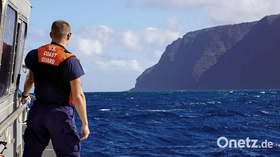Hubschrauberabsturz Hawaii