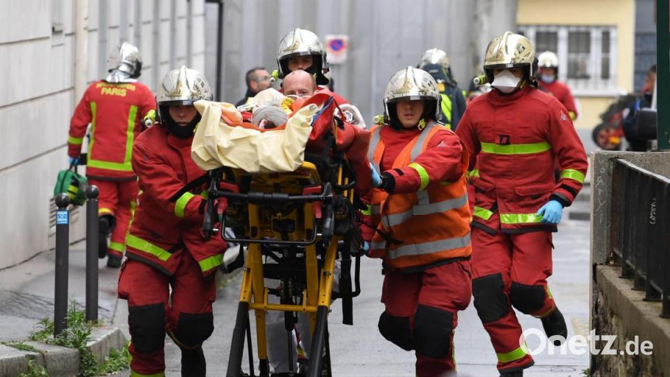 Mehrere Verletzte: Terrorverdacht nach Messerattacke in Paris