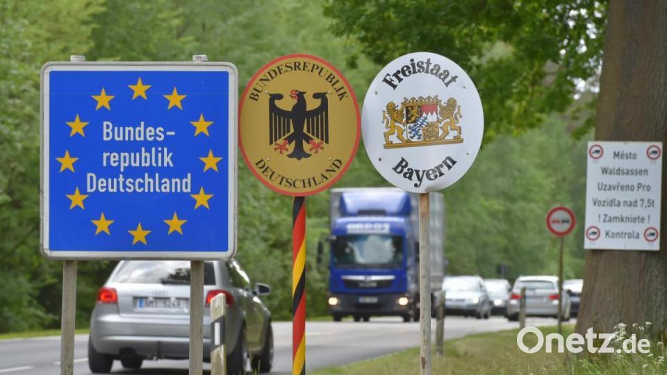 Deutschland Tschechien Grenze