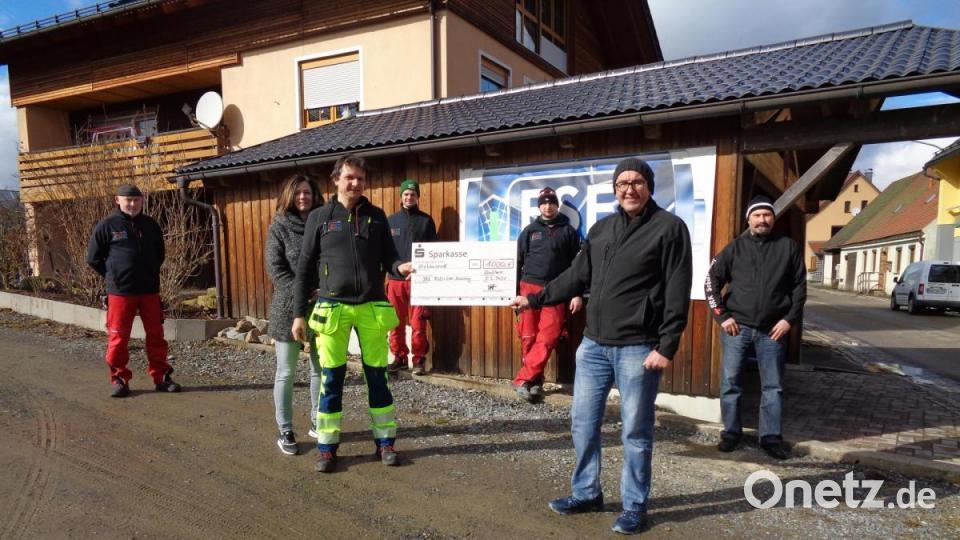 Stefan Reitinger unterstützt BRK-Arbeit