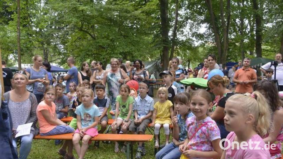Kinderbürgerfest im Max-Reger-Park in Weiden | Onetz